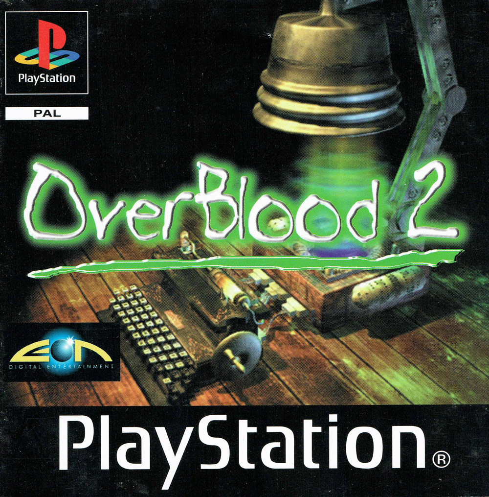 OverBlood 2 - Europe Insert Front